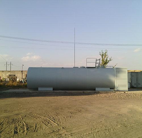 Монтаж блискавкозахисту дизельної заправки