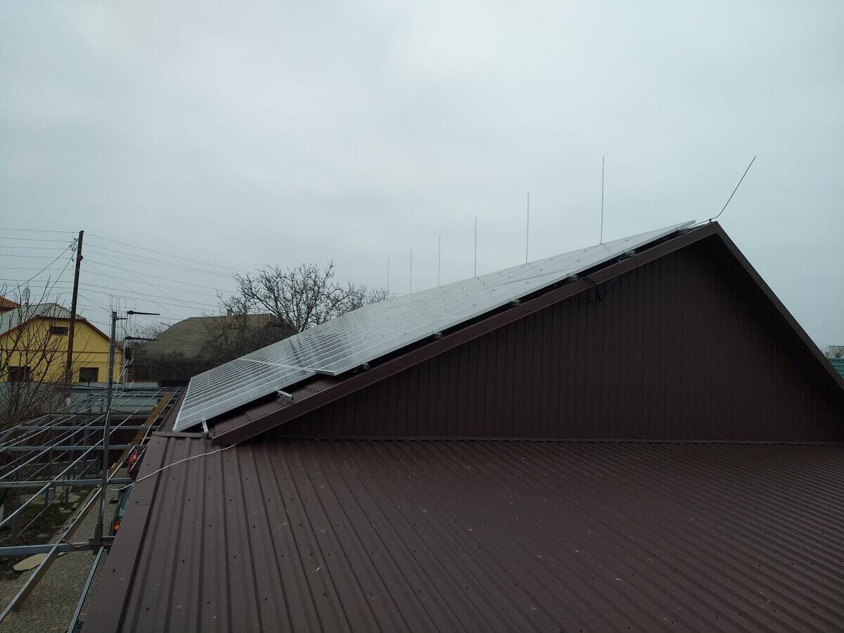 Монтаж солнечной электростанции 19 кВт