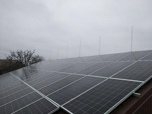 Сетевая солнечная электростанция под зеленый тариф